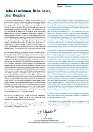Ausgabe 01 (2011) Jahrgang 4 Page 3