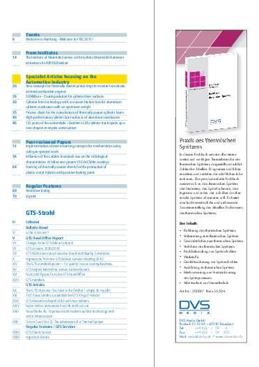 Ausgabe 01 (2011) Jahrgang 4 Page 5