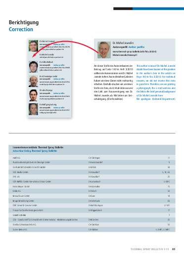 Ausgabe 01 (2011) Jahrgang 4 Page 69