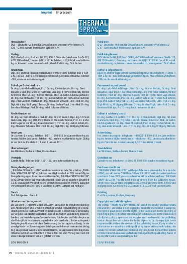 Ausgabe 01 (2011) Jahrgang 4 Seite 70