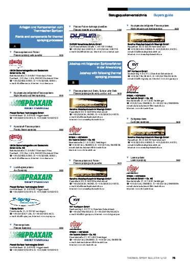 Ausgabe 01 (2012) Jahrgang 5 Seite 75