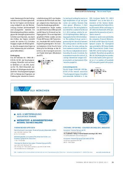 Ausgabe 01 (2020) Jahrgang 12 Seite 35