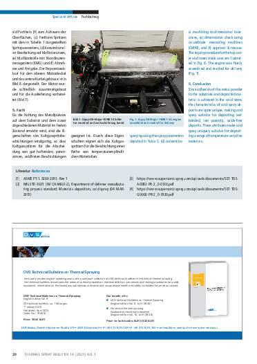Ausgabe 01 (2021) Jahrgang  14 Seite 20