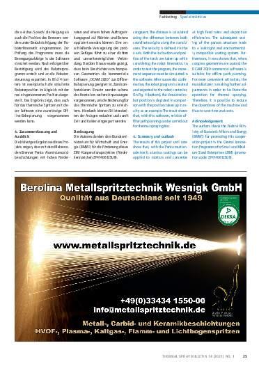 Ausgabe 01 (2021) Jahrgang  14 Seite 25