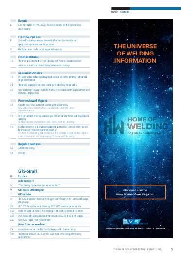 Ausgabe 01 (2021) Jahrgang  14 Seite 5