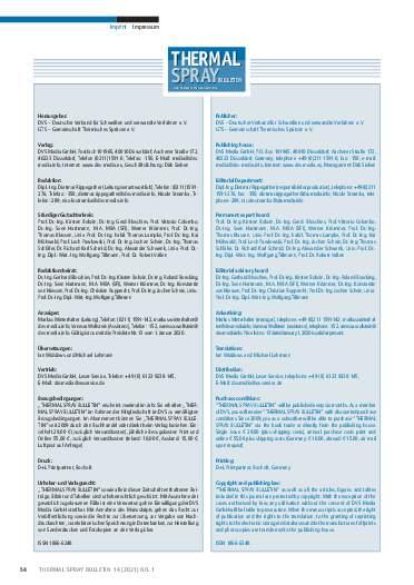 Ausgabe 01 (2021) Jahrgang  14 Seite 54