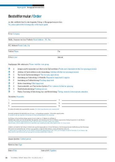 Ausgabe 01 (2021) Jahrgang  14 Page 66