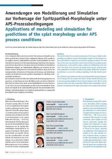Ausgabe 2 (2008) Jahrgang 1 Page 114