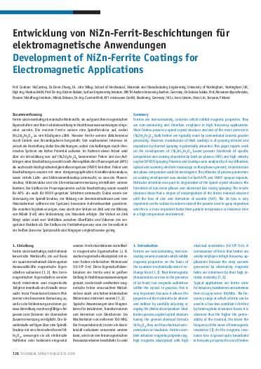 Ausgabe 2 (2009) Jahrgang 2 Seite 126