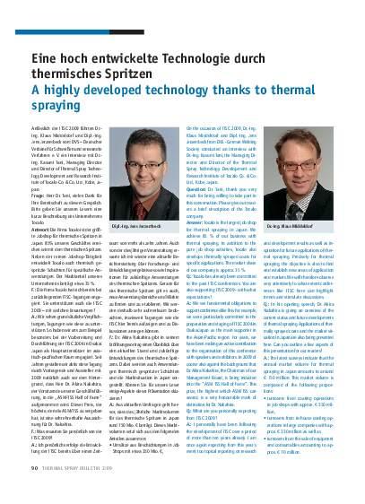 Ausgabe 2 (2009) Jahrgang 2 Page 90