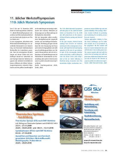 Ausgabe 2 (2009) Jahrgang 2 Page 93