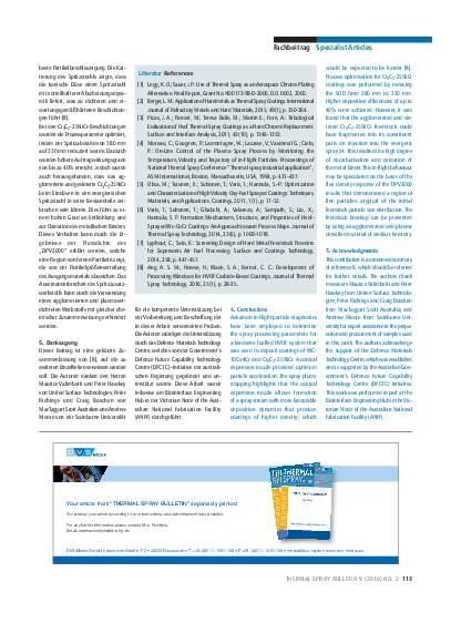 Ausgabe 02 (2016) Jahrgang 9 Seite 113