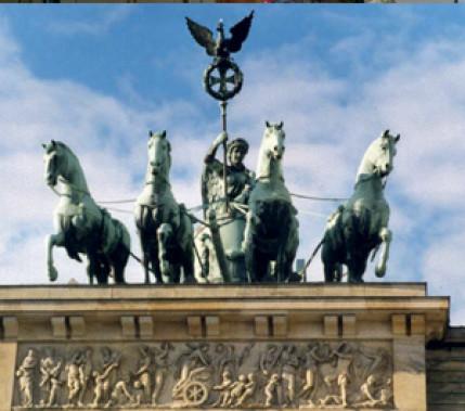Vom Schränkenlöten zum WIG-Schweißen: Restaurierung der Quadriga des Brandenburger Tors