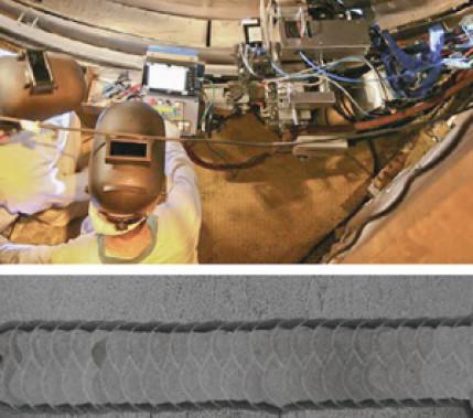 MSG-Engspaltschweißen – Beispiele aus dem Turbinenbau: Ein Hightech-Verfahren für hohe Qualitätsansprüche in allen Schweißpositionen