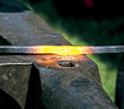 Feuerschweißen in der Praxis