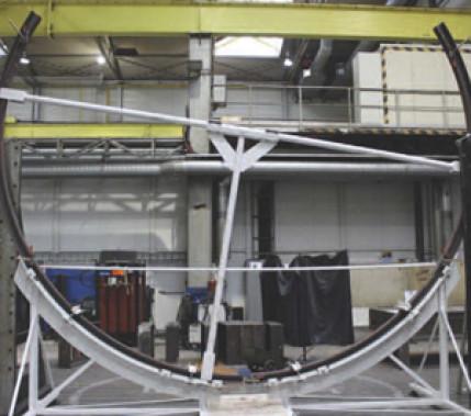 Sicher Schweißen in hoher Qualität: Schweißen eines Testlaufrings für ein Schaufelrad mithilfe des
