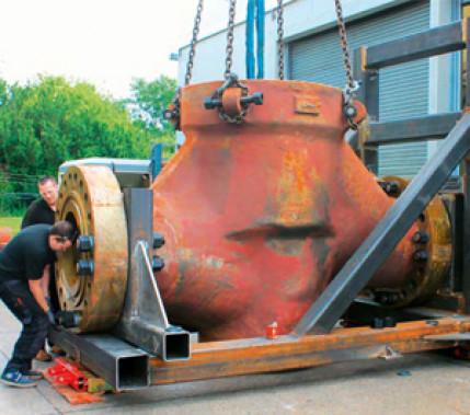 Zuverlässig, wirtschaftlich und schnell: WIG-Auftragschweißungen an großen Bauteilen