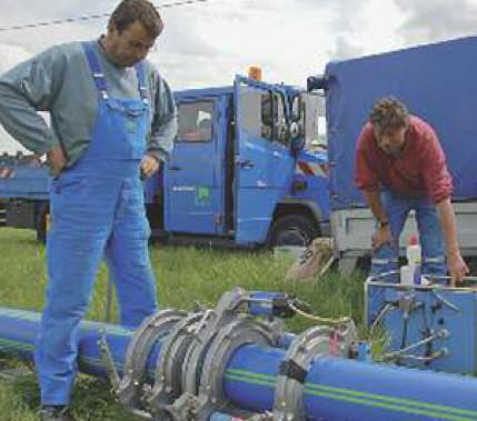 Hohe Anforderungen: Herstellung, Prüfung und Bewertung von Schweißverbindungen an erdverlegten Rohrleitungen – Teil 2: Polyethylenrohre