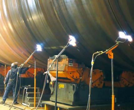TM-Bleche im Extremeinsatz: Schweißen thermomechanisch gewalzter Bleche (TM-Bleche) für Offshore-Gründungen
