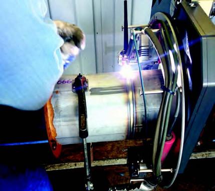 Hohe Qualität und Termintreue durch WIG-Orbitalschweißen: Verlegen einer Pipeline aus Duplexstahl in Norddeutschland