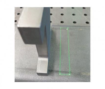Laserprojektor vereinfacht Schweißprojekte: Laserprojektionssystem verringert Fehler und spart Zeit bei der Positionierung von Schweißbauteilen