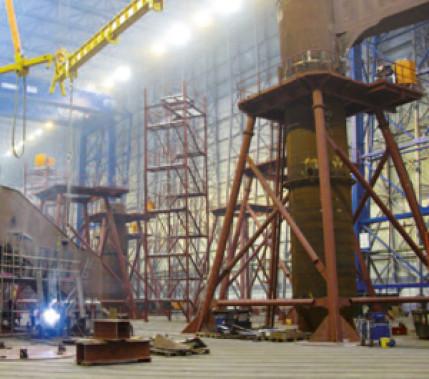 Kein Brenner von der Stange: Schweißen von Gründungsstrukturen für Offshore-Windkraftanlagen