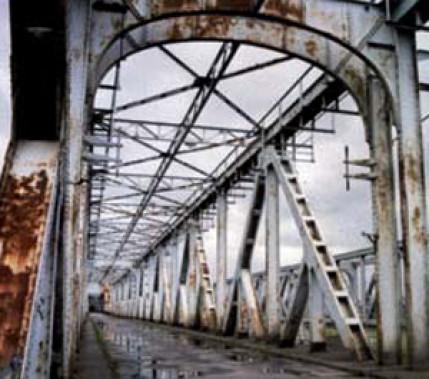 Genietet, geschraubt, geschweißt: Die Geschichte einer großen Brücke