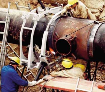Schweißen unter Druck: Kritische Aspekte beim Schweißen an in Betrieb befindlichen Gashochdruckleitungen