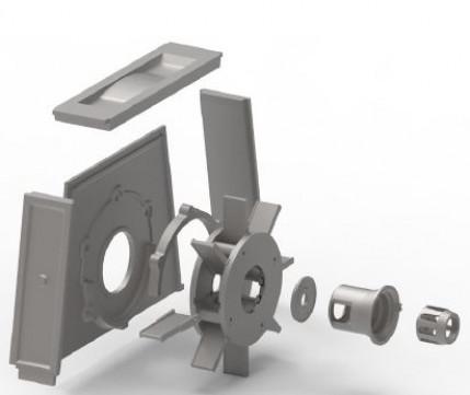 Standzeitoptimierte Werkstoffe für das Schleuderwerk in Strahlanlagen