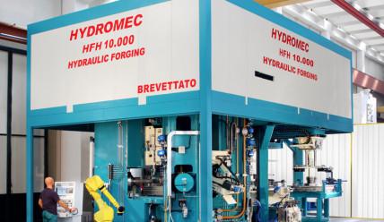 Mit der Marke Hydromec verstärkt die SMS group das Segment Schmiedetechnik