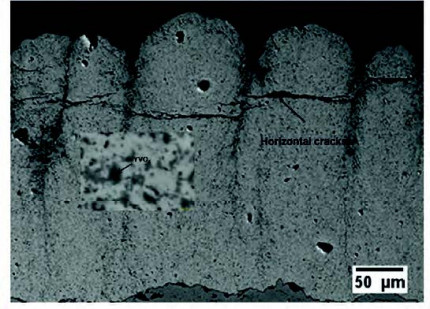Hot corrosion behavior of multi-layer suspensionplasma sprayed Gd2Zr2O7/YSZ thermal barriercoatings