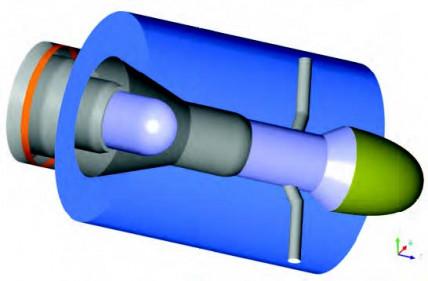 Numerical modelling of a Low Pressure PlasmaSpraying Torch used for Plasma Spray PhysicalVapor Deposition